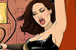 Angelina Jolie naked cartoon movie 1