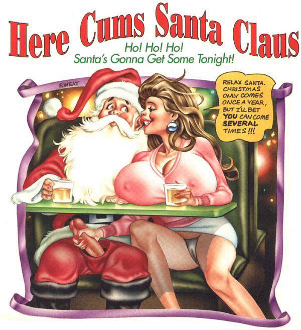 Here cums santa claus 6