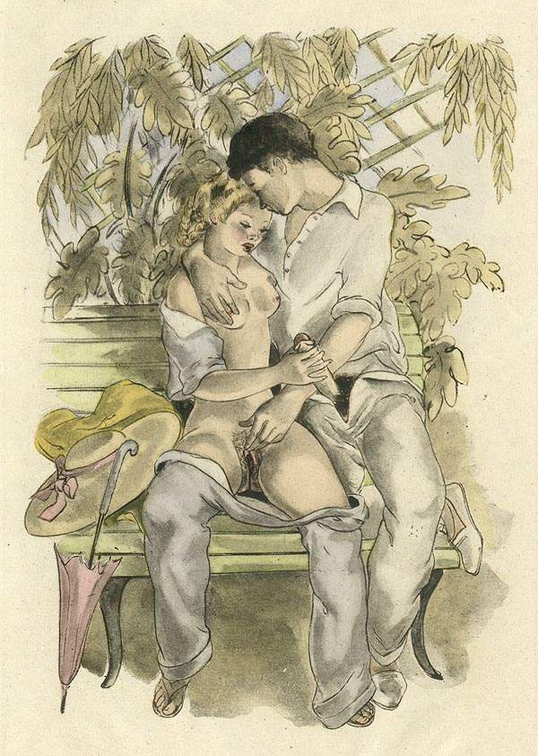Illustrations vintage erotic